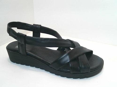 Sandalia de tubular color negro (32585)