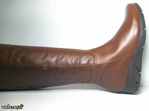 Bota de napa color cuero (31580)