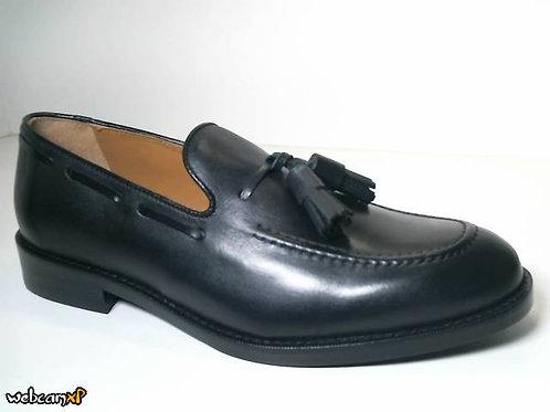 Zapato de vestir de box color negro (31689)