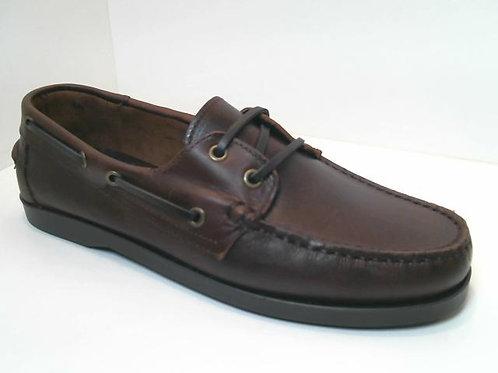 Náutico de pull color marron (32595)