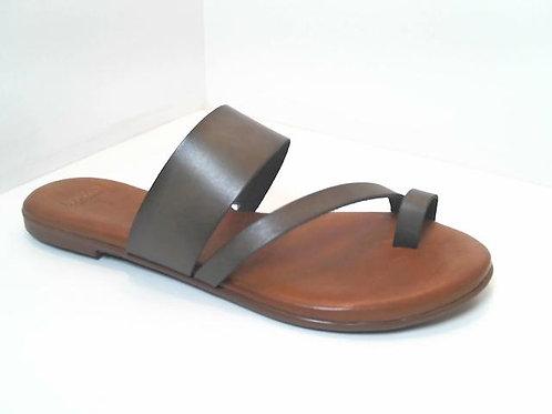 Sandalia de vaq. color kaki (32532)