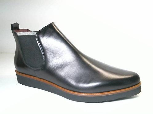 Botín de sierra color negro (29443)
