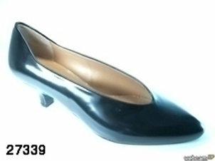 Zapato de vestir de devia color negro (27339)