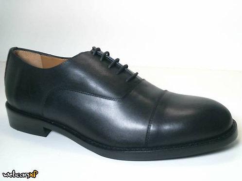 Zapato de vestir de box color negro (31685)