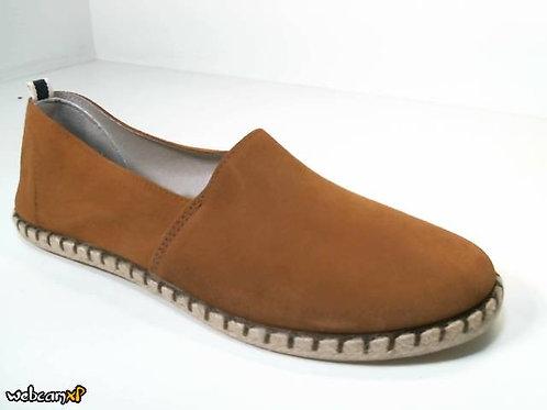Zapato tipo casual de caballero color cuero (30028)