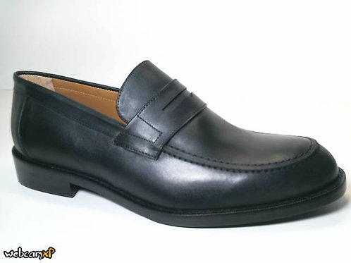 Mocasín de box color negro (31688)
