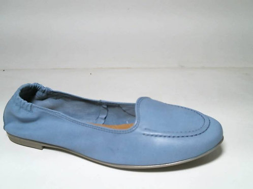 Mocasín de pielsoft color azul (29174)