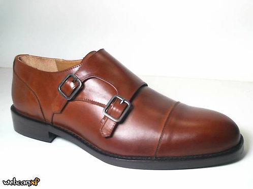 Zapato de vestir de box color cuero (31680)