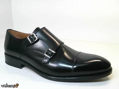 Zapato de vestir de parma color negro (30712)