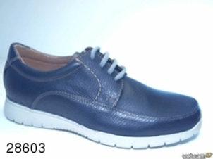 Zapato tipo casual de galicia color azul (28603)