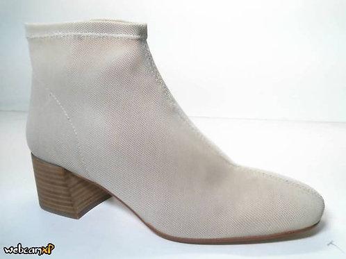 Botín de licra elastica color beige (31860)