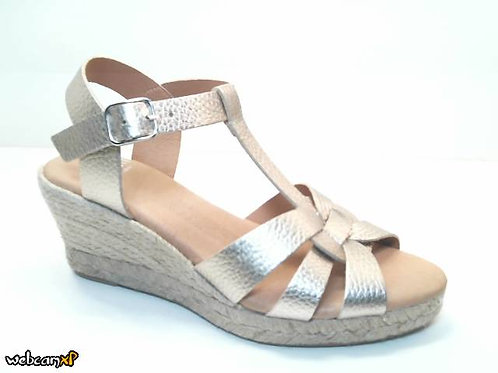 Sandalia de ulises color metal (32370)