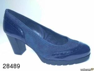 Zapato de vestir de char.bom-ante color azul (28489)
