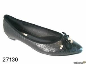 Zapato de vestir de snake color negro (27130)