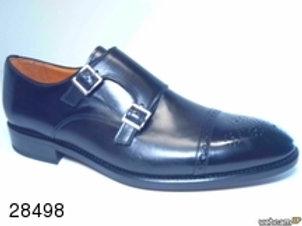 Zapato de vestir de parma color negro (28498)