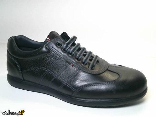 Deportivo de piel escada color negro (31475)