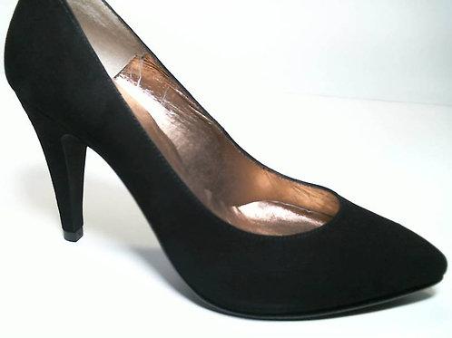 Zapato de vestir de ante color negro (29652)