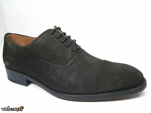 Zapato de vestir de superbuck color kaki (30115)