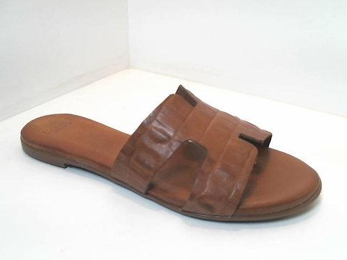 Sandalia de croco color marron (32533)