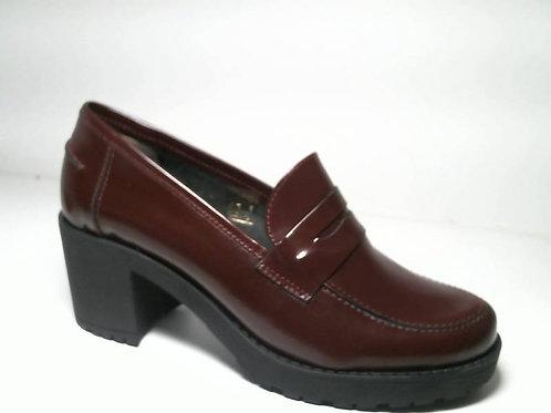 Zapato de vestir de florantic color burdeos (29367)