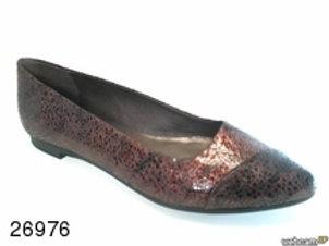 Zapato de vestir de flor.luxor color burdeos (26976)