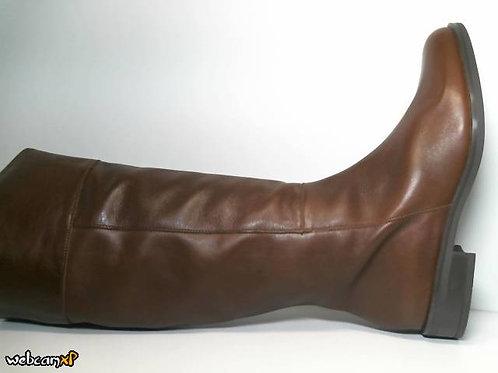 Bota de napa color cuero (31592)