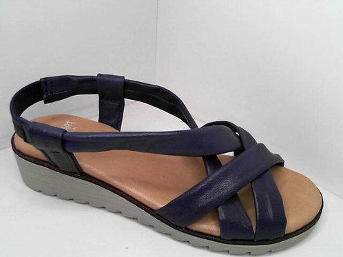 Sandalia de tubular color azul (32584)