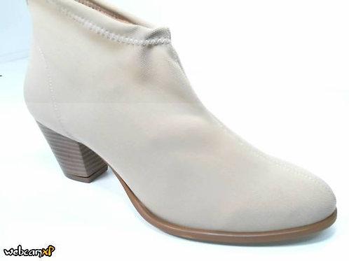 Botín de elastica color beige (30030)
