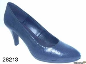 Zapato de vestir de abeja color negro (28213)