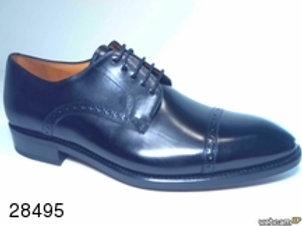 Zapato de vestir de parma color negro (28495)
