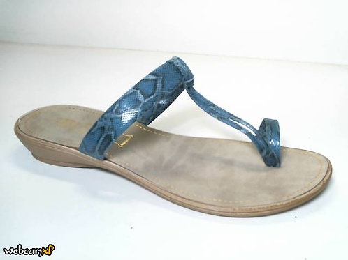 Sandalia de babysnake color azul (31742)