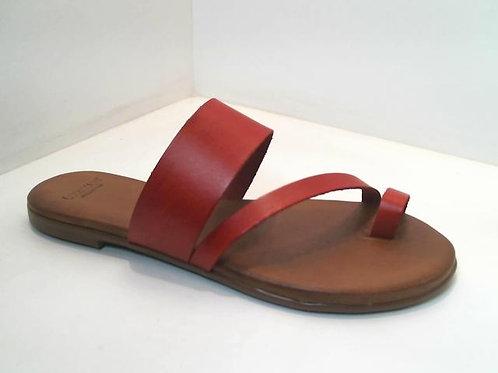 Sandalia de vaq. color burdeos (32531)