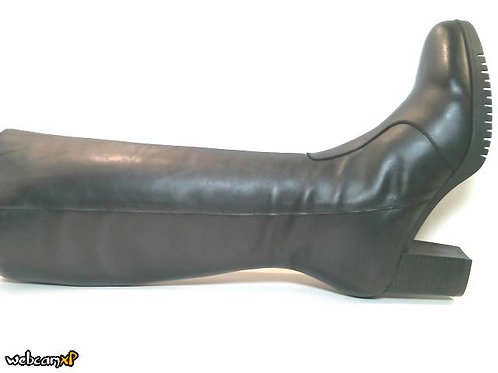 Bota de napa color negro (32188)