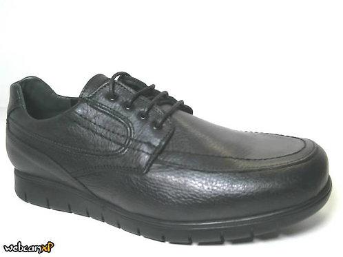 Zapato cómodo de piel escada color negro (30422)