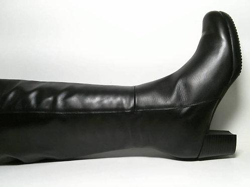 Bota de napa color negro (29167)