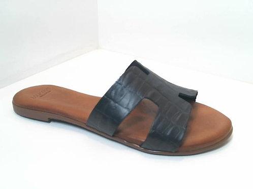 Sandalia de croco color negro (32534)