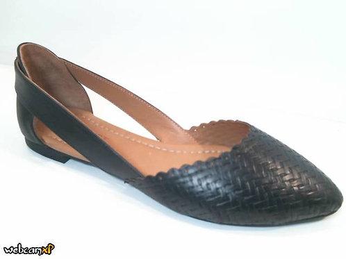 Zapato de entretiempo de piel color negro (31997)