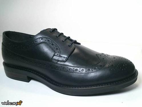 Zapato de vestir de piel color negro (31715)