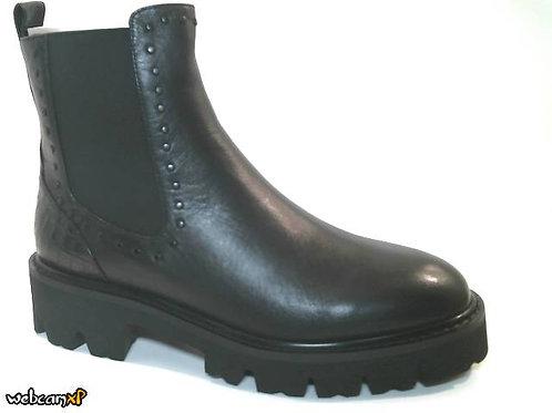 Botín de napa color negro (32185)