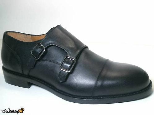 Zapato de vestir de box color negro (31687)