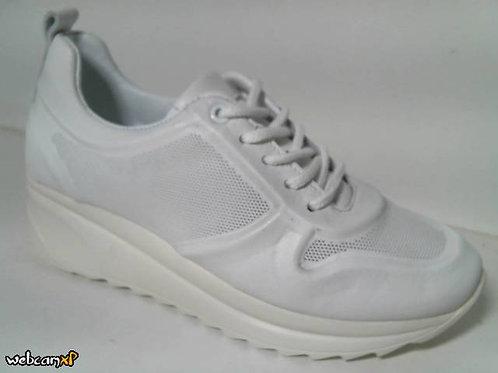 Deportivo de piel color blanco (31989)