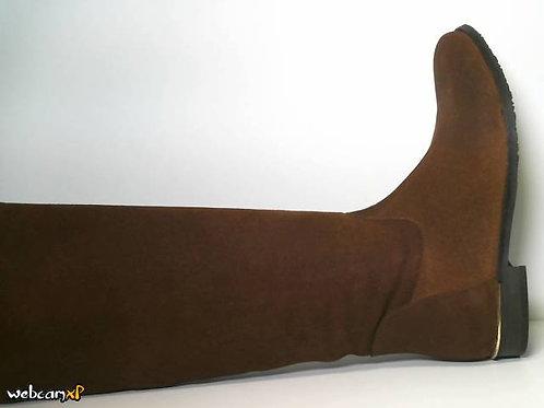 Bota de piel color cuero (31620)
