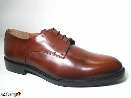 Zapato de vestir de box color cuero (31679)