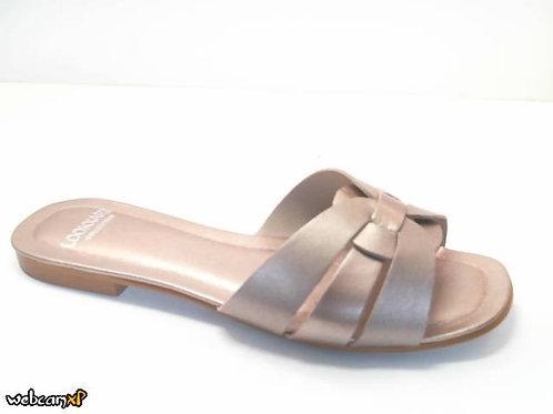 Sandalia de nacar color metal (32368)