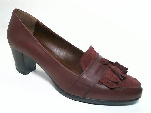 Zapato de vestir de igualfernando color burdeos (29641)