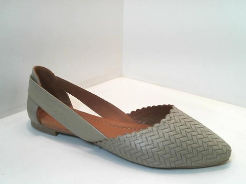 Sandalia de piel color verde (32520)