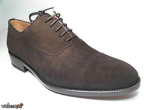Zapato de vestir de superbuck color marron (29918)