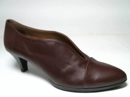 Zapato de vestir de napa-napa color burdeos (29136)