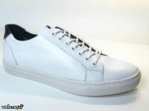Deportivo de piel color blanco (31146)