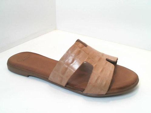 Sandalia de croco color beige (32536)